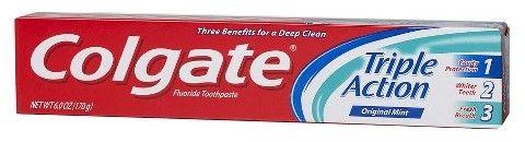 Colgate Triple Action Original Toothpaste - 6oz