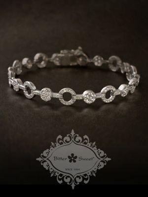 Bitter Sweet Jewellery, fine sterling silver vintage style bracelet ...