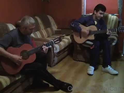 Gipsy jazz( Minor Swing) guitar duo