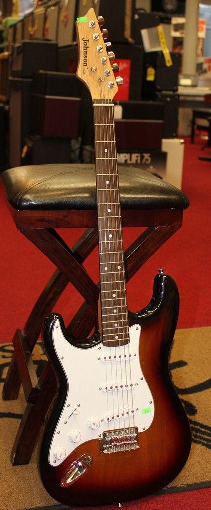 used johnson electric guitar sunburst emg left handed guitars pinterest products electric. Black Bedroom Furniture Sets. Home Design Ideas