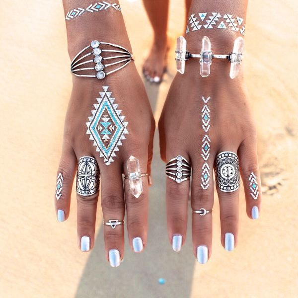 OMG WANT. GypsyLovinLight: Flash Tattoos – Desert Dweller by Child of Wild