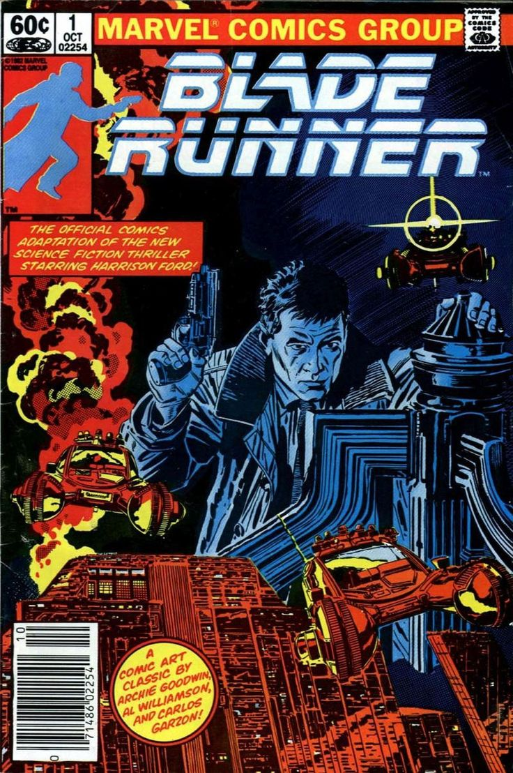 Blade Runner, Vol. 1 # 1* by Al Williamson, with Additional Inks by Carlos Garzon, Dan Green, and Ralph Reese, Lettering by Ed King, Colors by Marie Severin, and a Script that was Adapted from the...
