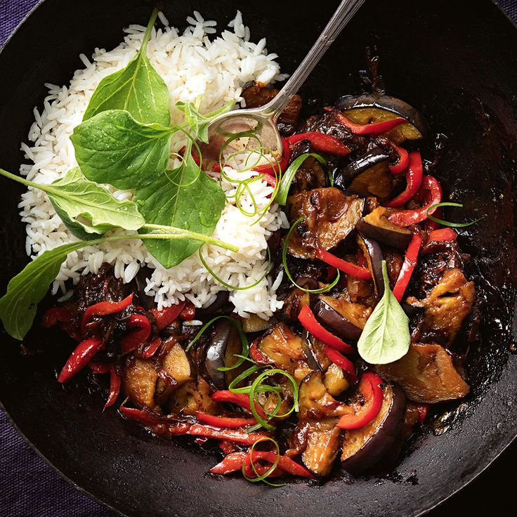 When you're after a tasty and warming meal, give this delicious Miso Eggplant Hotpot a go