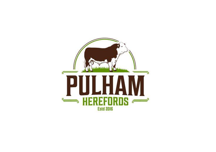 Pulham Herefords logo - unused