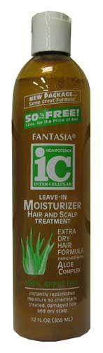 Fantasia IC Leave-In Moisturizer Hair & Scalp Treatment (12 Oz)