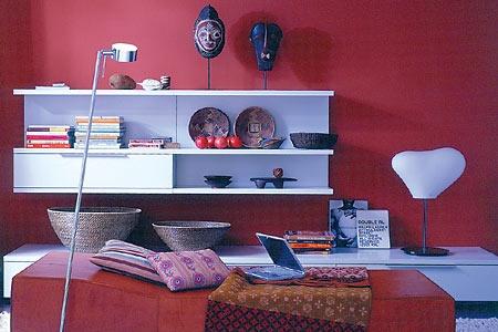 24 best Interior Red images on Pinterest Live, Red and At home - schöner wohnen farben wohnzimmer