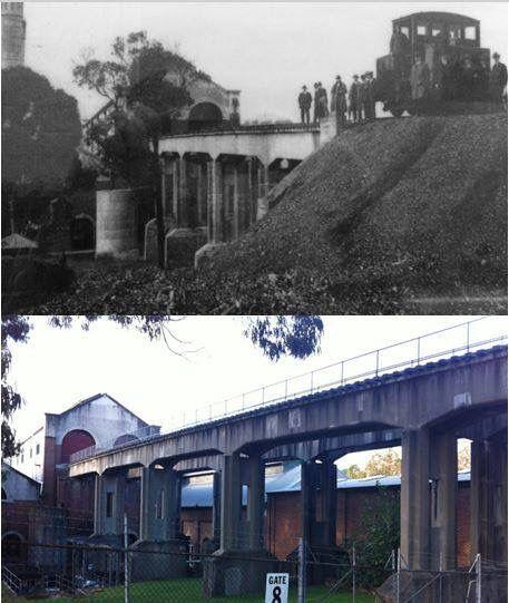 Ryde Pumping Station 1920s > 2016 [Water Board Archives > Les de Belin. By Les de Belin]