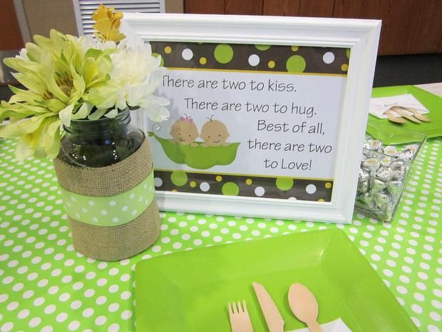 Hostess with the Mostess® - Peas in a Pod Baby Shower
