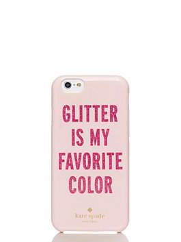 glitter is my favorite color iphone 6 case by kate spade new york