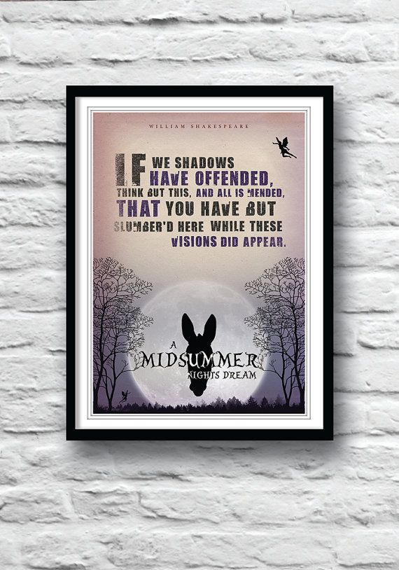 foolishness in midsummer nights dream by william shakespeare Clowning in shakespeare's plays evolved from slapstick comedy (nick bottom in  a midsummer night's dream turns up wearing donkey's ears),.
