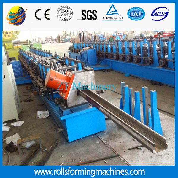 There is our Shelving & racking roll forming machine and the finished products. If you have the requirments, feel free to contact us. Our machines are customized, we can design the machine according to your needs. Email:roofingmachine@zhongtuocn.com Whatsapp:008613733275488
