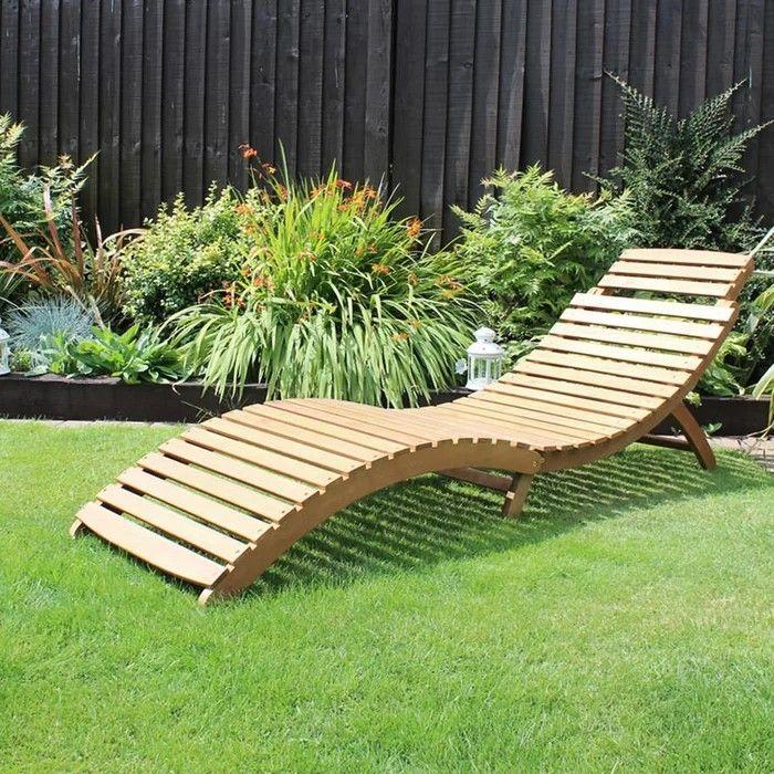 Akazie Sonnenliege Holzliege Liegestuhl Gartenliege Saunaliege Liege Klappbar Outdoor Loungers Sun Lounger Outdoor Chaise Lounge