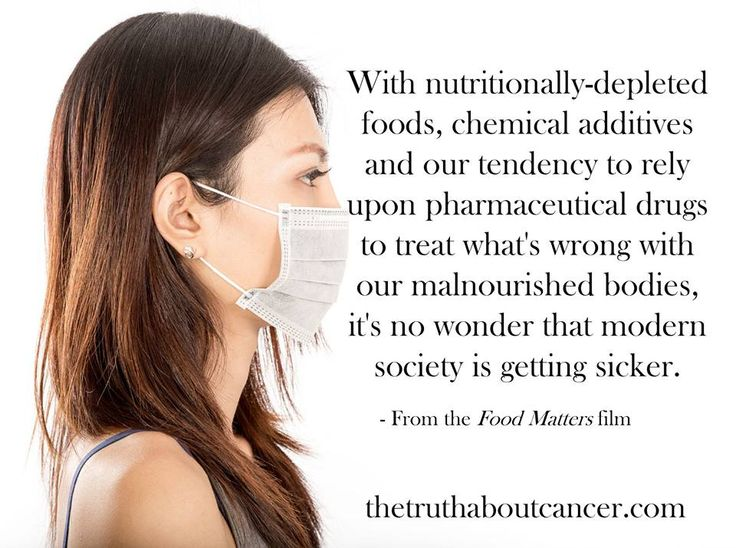 """Good quote from the documentary """"Food Matters"""". We expose more truths about health and cancer on our website. Click on the pic to get redirected. // The Truth About Cancer"""