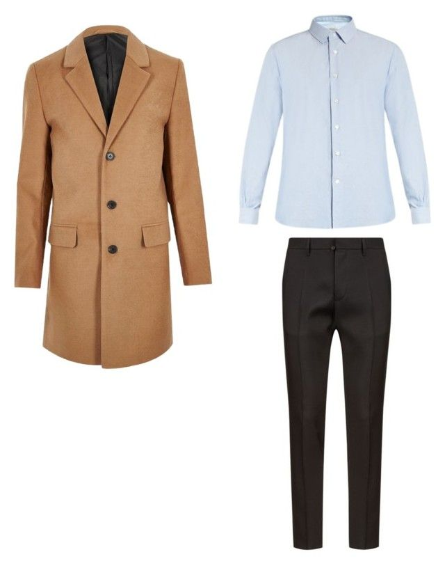 """Без названия #3"" by hyzirt on Polyvore featuring Dsquared2, Valentino, River Island, men's fashion и menswear"