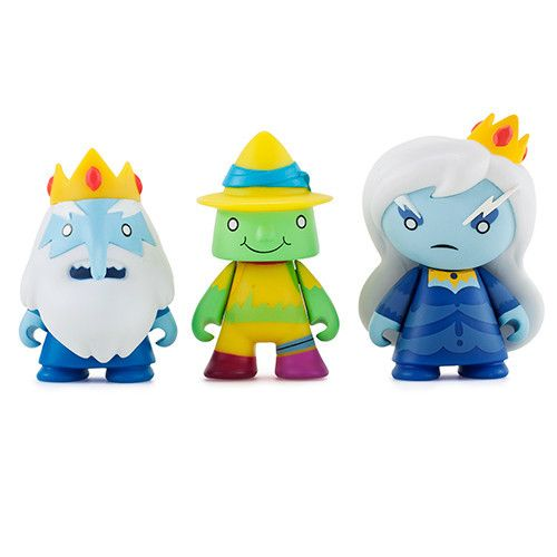 All of your favorite Cartoon Network Adventure Time characters are here in this awesome blind box series from Kidrobot and Adventure Time. Each Blind Box features one of eighteen 3-inch collectible vi