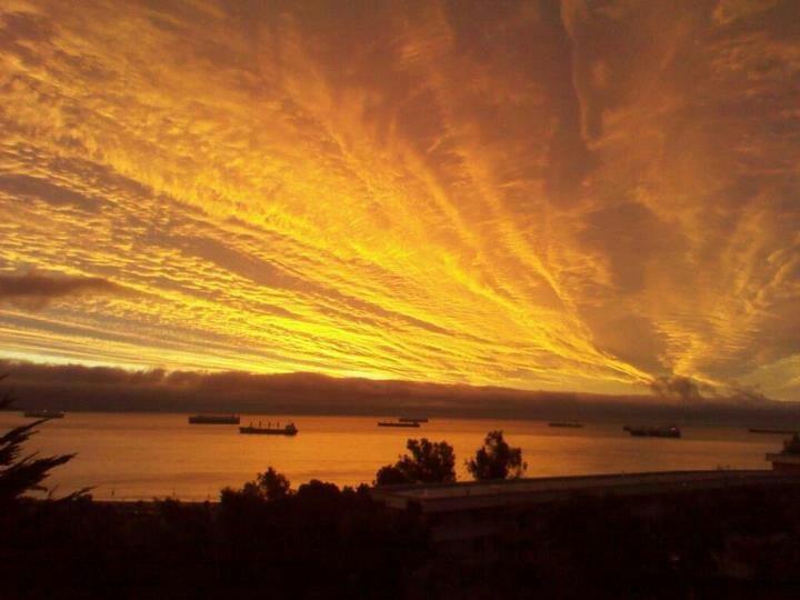 Sunset,  Vina del Mar.