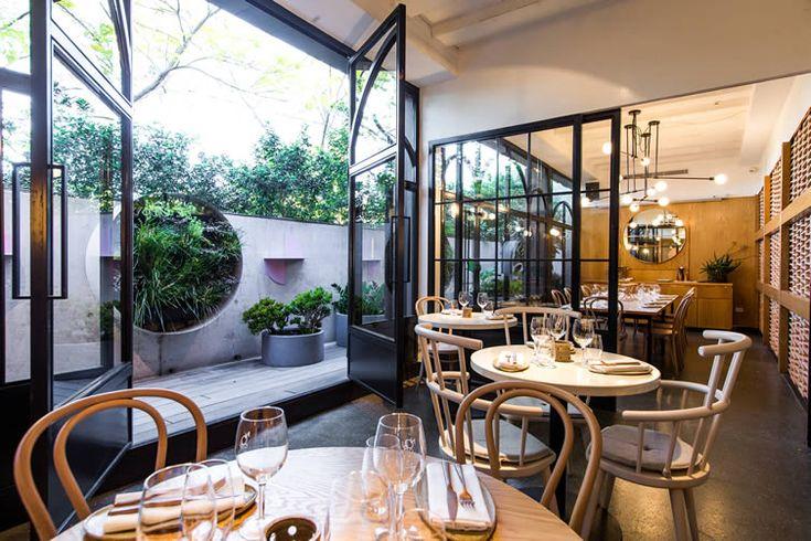 Light Touch: delicately-hued Sydney restaurant delivers calming environ for its impressive Lebanese cuisine...