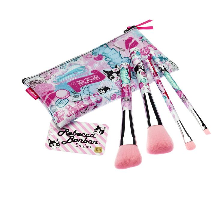 Rebecca Bonbon - Paris Brush Set