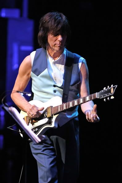 Jeff Beck, his guitars, related stuff & advert for the MLP Jeff Beck Social…