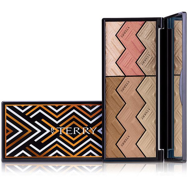 BY TERRY Women's Sun Designer Palette - #2 Light & Tan Vibes ($82) ❤ liked on Polyvore featuring beauty products, makeup, colorless, by terry, by terry makeup, by terry cosmetics and palette makeup