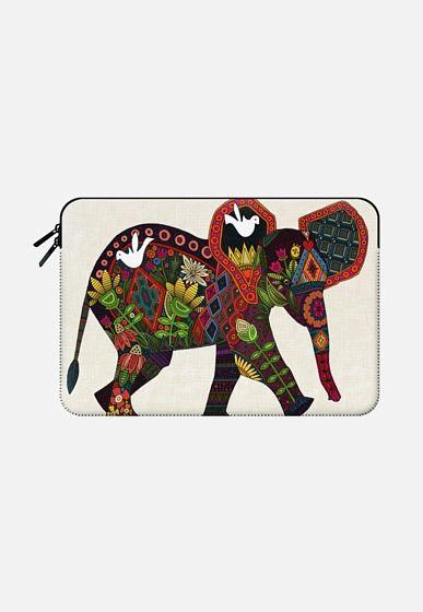 little elephant Macbook Pro 13 sleeve by Sharon Turner   Casetify