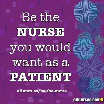 Being a patient a lot lately I whole heartedly believe this!!!