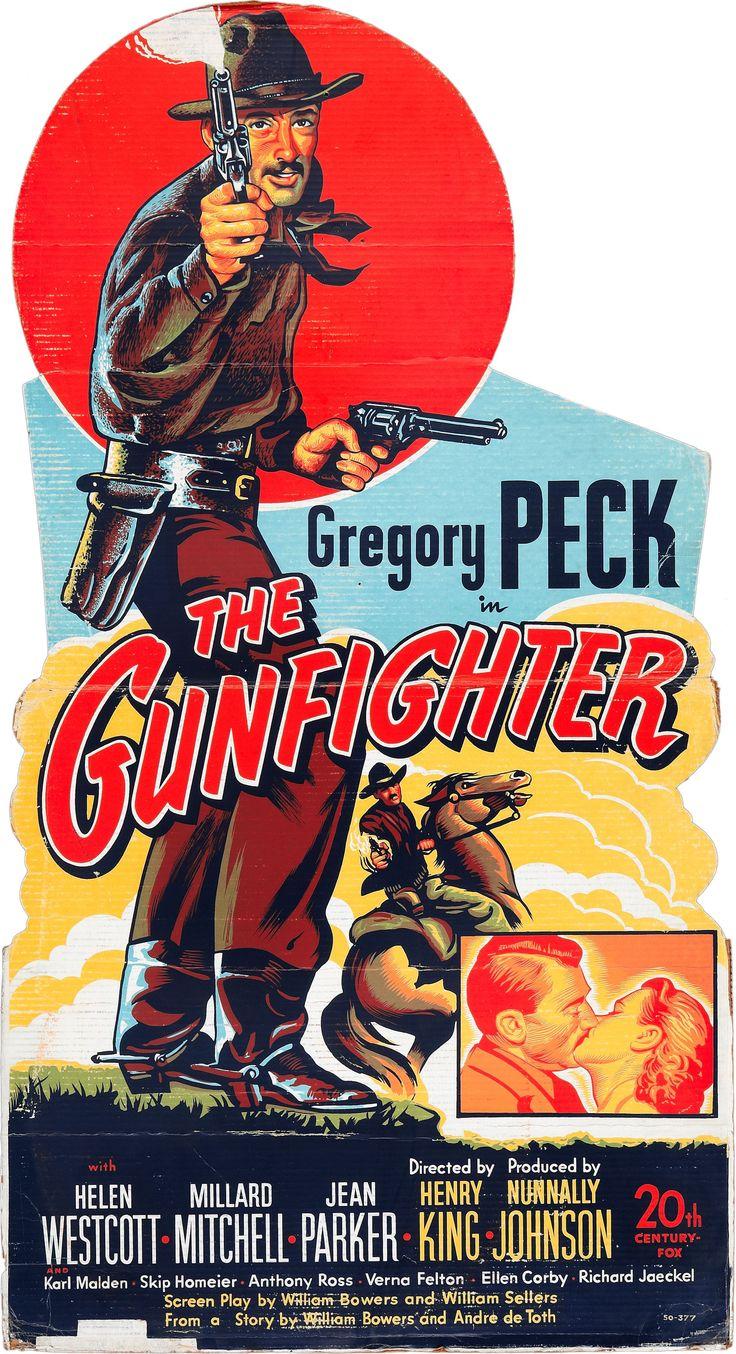 1950 - El Pistolero - The gunfighter - Reparto Gregory Peck, Helen Westcott, Millard Mitchell, Jean Parker, Karl Malden,