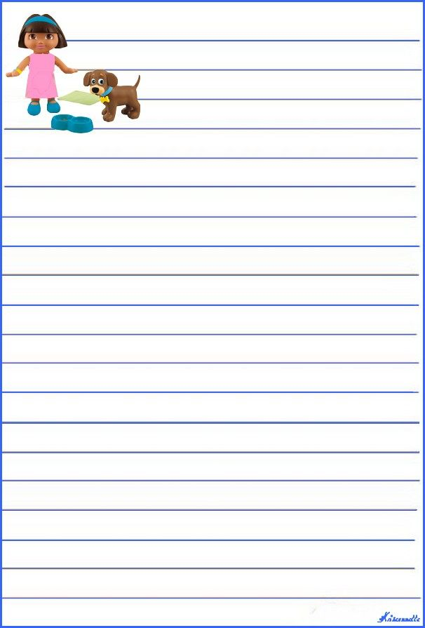 This is a picture of Exceptional Printable Stationary for Kids