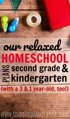 243 best homeschool curriculum images on pinterest homeschooling our relaxed homeschool plans for second grade and kindergarten eclectic homeschooling relaxed homeschooling fandeluxe Gallery