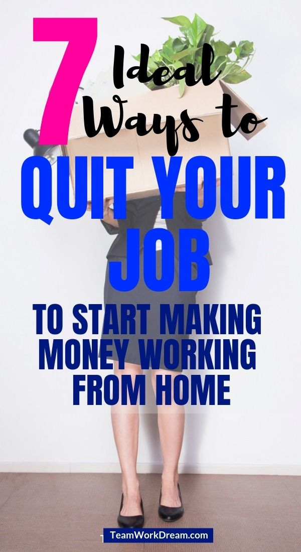 How to Quit Your Job Without Causing Family Stress