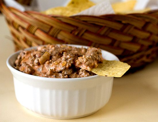Easy 3 Ingredient Sausage Dip! Perfect for the carnivores at your party!