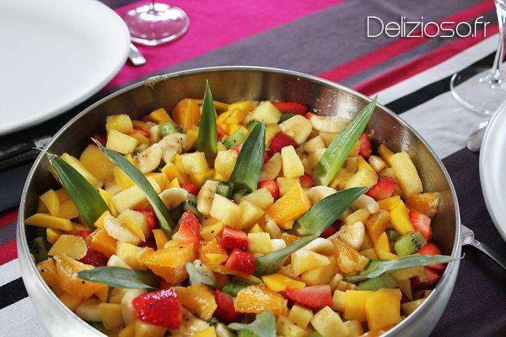 Salade de fruits maison... au sirop ! - Fruit Salad with sirup