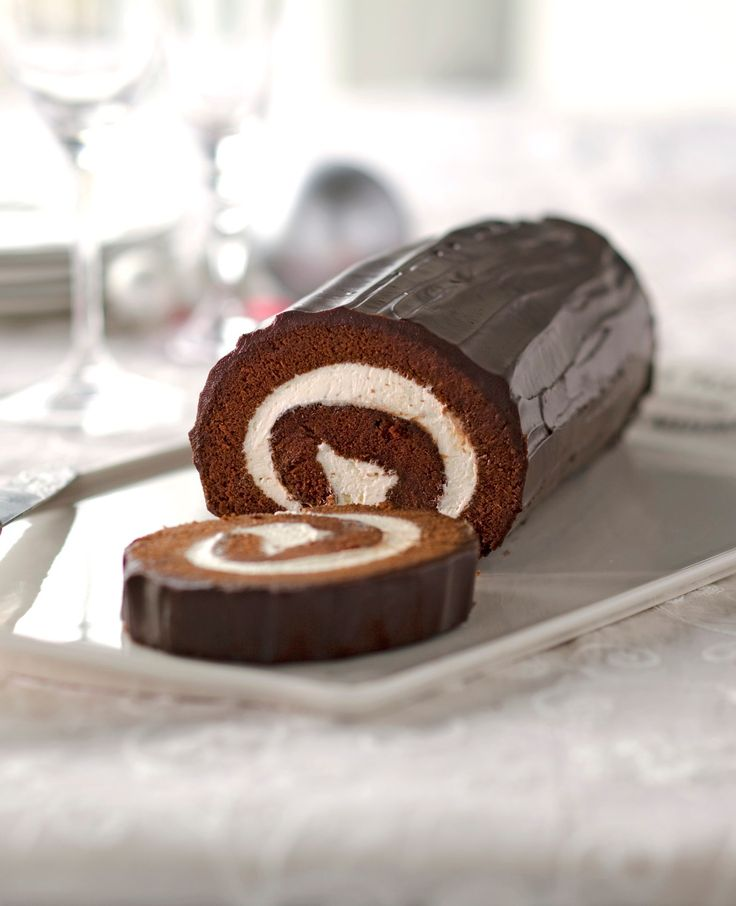 Chocolate Cake Roll--We're running out of stars to describe how creamy and delicious this is. Jelly roll's chocolate cousin, this cake will remind you of your favorite snack treat growing up.  Follow Eggland's Best at pinterest.com/egglandsbest for more delicious ideas, fun things in the kitchen and other eggciting things!