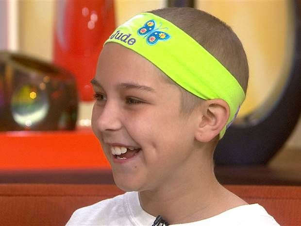 Love of tennis helps 10-year-old girl beat cancer - News - TODAY.com
