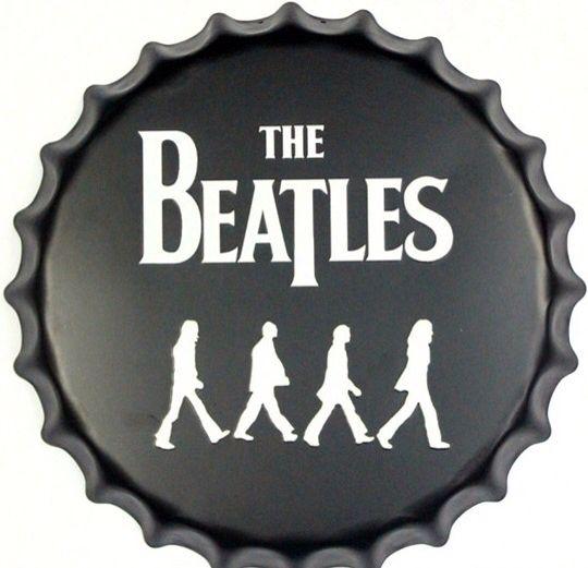 A la venta chapitas de 40 cm fe #thebeatles ;)
