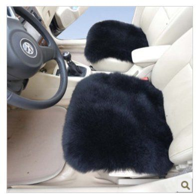 Car Seat bottom Cushions - Pin it :-) Follow us  CLICK IMAGE TWICE for Pricing and Info ...SEE A LARGER SELECTION of car seat bottom cushions at  http://zcarseatcushions.com/product-category/car-seat-bottom-cushions/ -  car, upholstery,  car seat, cushion - Sheepskin Car Seat Covers Black Color 2pcs Front Driver Seat Cushion Sheepskin Car Cushion