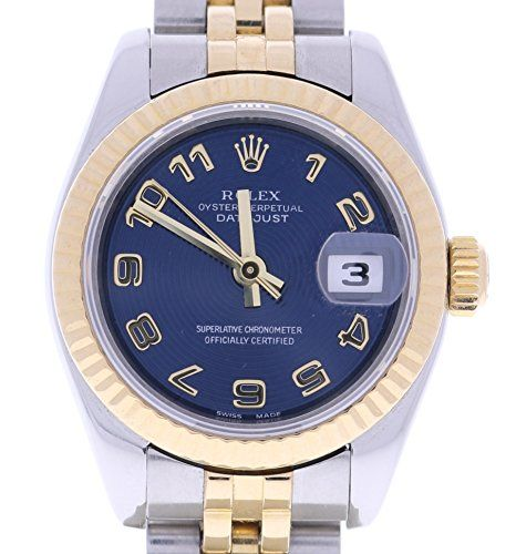 Rolex Lady Datejust automatic-self-wind womens Watch (Certified Pre-owned) 17917...