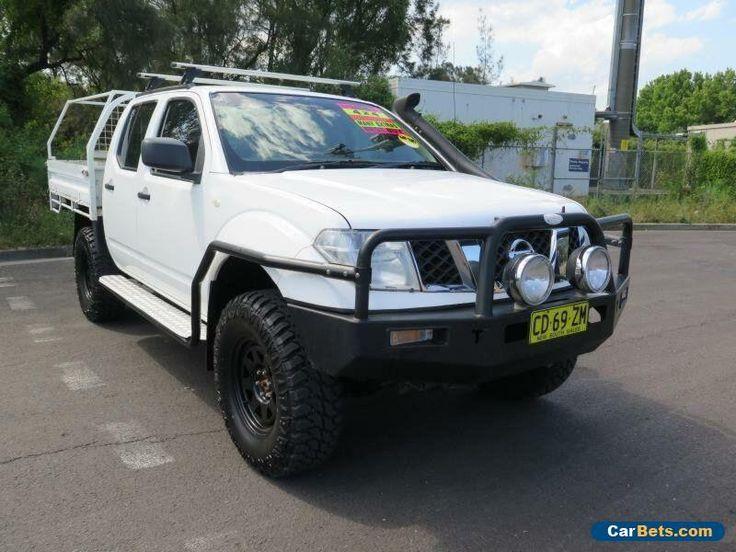2010 Nissan Navara D40 RX White Manual 6sp M 4D UTILITY #nissan #navara #forsale #australia
