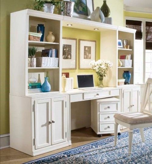 home office wall unit for the home