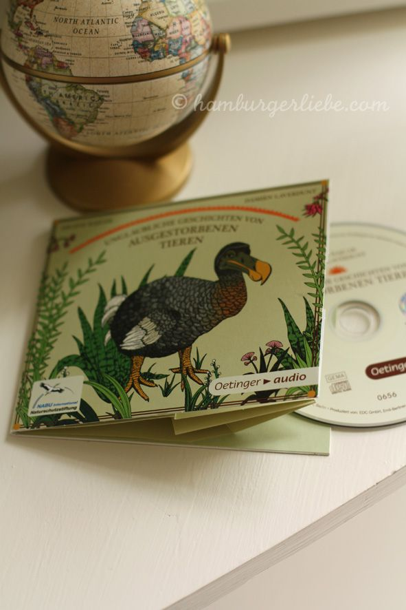 Hörbuch/CD:Hamburger Liebe: Unglaubliche Geschichten von ausgestorbenen Tieren