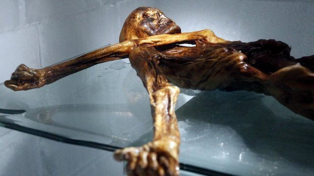 A 5,000-year-old 'wet mummy' which astounded archaeologists is drawing the crowds to South Tyrol.    When Otzi was discovered he was completely intact and also had weapons, tools and clothes.