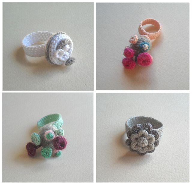 Crochet rings |