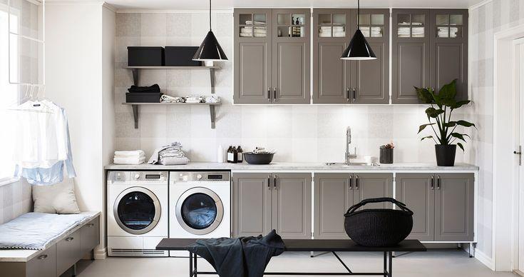 Så blir tvätten ett rent nöje - Nytt kök badrum och tvättstuga - Vedum kök och bad AB