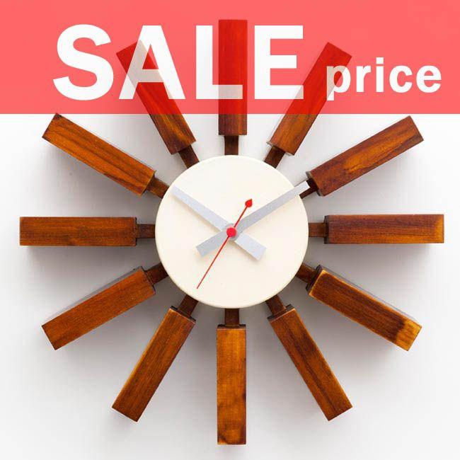 【限定セール品】ジョージネルソン ブロッククロック DAIVA 【SALE】【楽天市場】