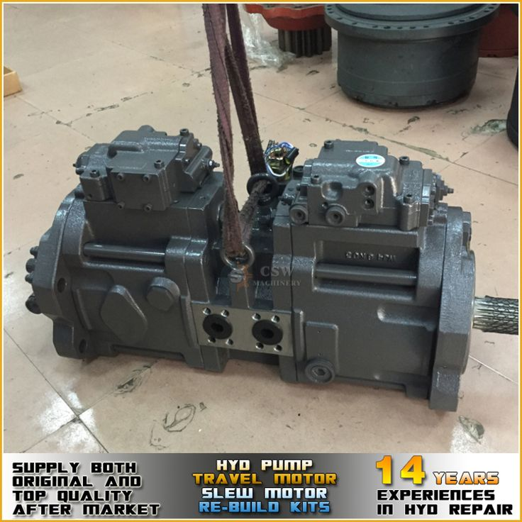 Supply genuine and top quality after market K3V112DTP hydraulic pump for excavator SK200-6
