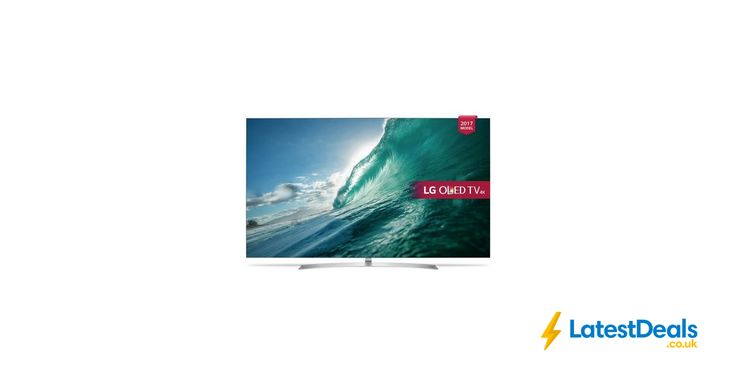 LG OLED55B7V 55 Inch Smart OLED 4K Ultra HD TV HDR Free Delivery, £1,699 at Argos