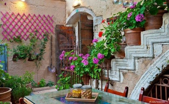 Traditional Yard in Crete