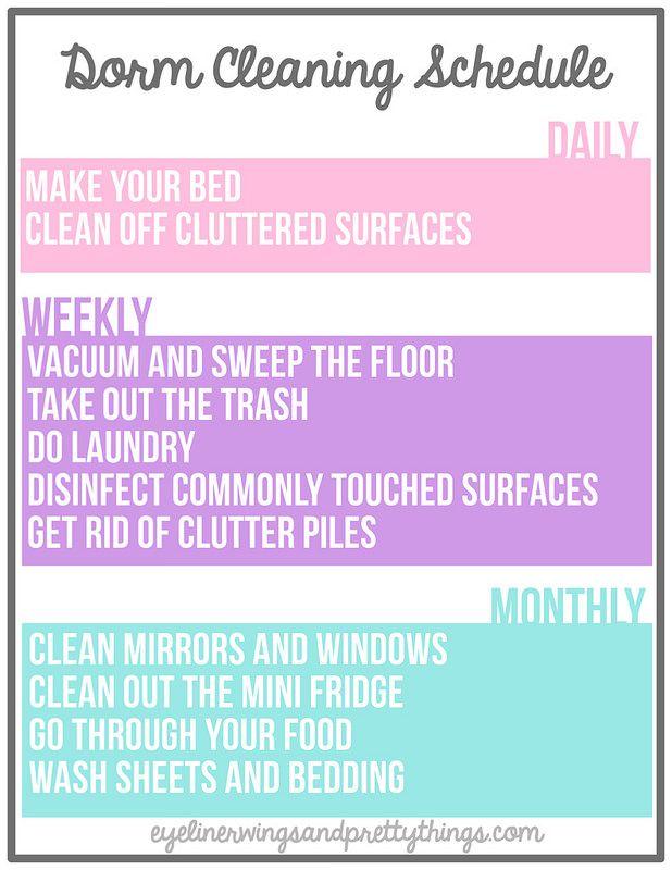 Cu Boulder Dorm Room Checklist