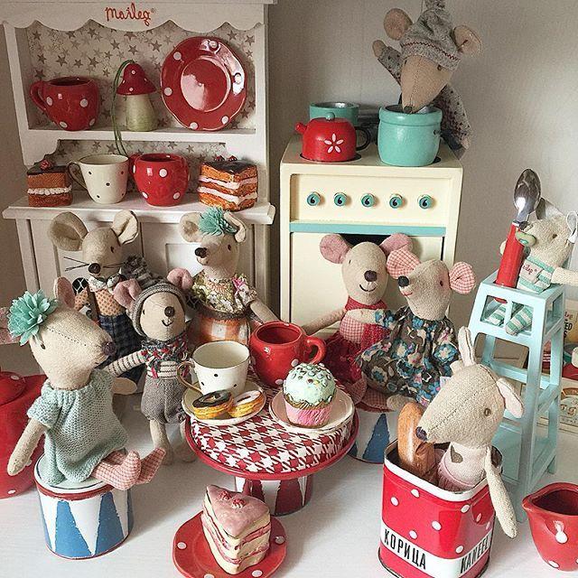 С началом нового дня!!!!всем хорошего настроения#майлег #maileg #i_love_bunnyhill