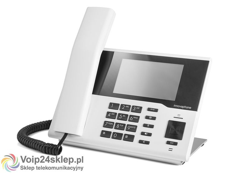 Telefon przewodowy VoIP innovaphone IP232 - biały #voip24sklep.pl